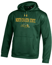 North Dakota State Bison NCAA Men's Under Armour Fleece Hoodie Sweatshirt, NWT