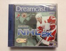 NHL 2K - SEGA SPORTS - SEGA Dreamcast - Brand New & Sealed! PAL euro version.