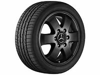 "Genuine Mercedes Sprinter Alloy Wheel  - 6 Spoke, Gloss  Black, ""16 Inch""   X 1"