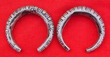 Rare Antique Tribal Old Silver Bracelet / Bangle Pair
