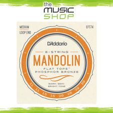 D'Addario EFT74 Medium 11-39 Flat Tops Mandolin Strings