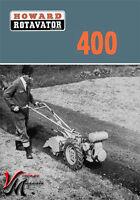 Howard 400 - Rotavator / Rotovator - Brochure - A4 (L365A/2/67)