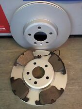 AUDI A5 1.8 , 2.0 TDI FRONT BRAKE DISCS AND PADS 2009-2017 NEW COATED DESIGN