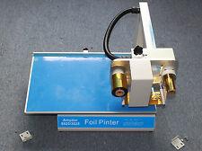 Digital Automatic Foil Printer Gold Foil Press Hot Foil Printing Stamping 220v
