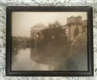 SF Palace of the Fine Arts Theatre Cardinell-Vincent Co. Hand Tinted Photo PPIE