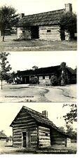Historic Schoenbrunn Village-Ohio-RPPC-Vintage Real Photo Postcard Large Lot-12