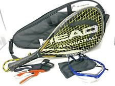 Head Intelligence Intellifiber i.165 Racquetball Racquet Comes With Case Bundle