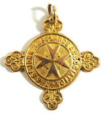 St John Ambulance 18CT SOLD GOLD MEDAL FULLY HALLMARKED