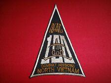 "Vietnam War Patch US Air Force RF-4C ""100 COMBAT MISSIONS NORTH VIETNAM"""