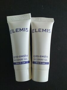 2 x New Elemis Eyes Awake Recovery Gel 5ML UK SELLER