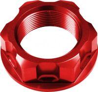 APICO Steering Stem Nut SUZUKI RM125/250 04-08 RMZ250 07-15 RMZ450 05-15 Red
