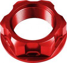 APICO Steering Stem Nut HONDA CRF450R 02-15 CRF450X 05-15 RED