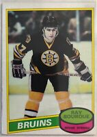 1980-81 O-Pee-Chee Ray Bourque Rookie Card #140  Legend