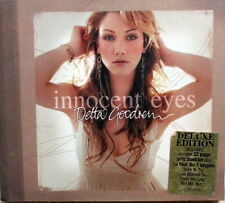 DELTA GOODRUM - INNOCENT EYES DELUXE EDITION CD + 32-PGE BOOK - EXCELLENT COND