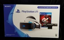 NEW Sony PlayStation VR VirtualReality PS4 Headset Gran Turismo Sport Bundle NIB
