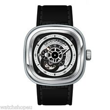 NEW SEVENFRIDAY P1B/01 P-SERIES MENS ESSENCE AUTOMATIC WATCH - 2 YEARS WARRANTY