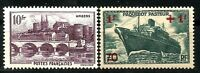 Timbres n° 500 et 502 neufs ★★ Luxe 1941