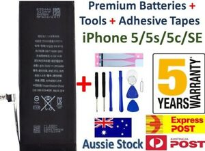 For iPhone 5s 5c SE 5 NEW FAST CHARGING Internal Battery Replacement + Tools