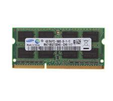 4GB Samsung 4GB 2Rx8 PC3-10600 SODIMM DDR3 1333Mhz 204PIN Memory Laptop CL9 RAM