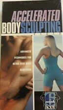 Provida Accelerated BODY SCULPTING Exercise 6 Week Body Makeover Weightloss VHS