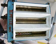 nudel maschine emide nr 5 kurbel walz gerät 6 walzen alt top deko metall 1956