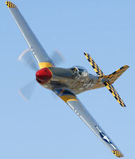 "Model Airplane Plans (UC): P-51 Mustang 27½"" 1/16 Scale for .10-.29 (Musciano)"