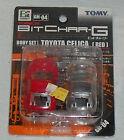Tomy Tomica Bit Char-G TOYOTA CELICA Car Body Red NEW GM-04