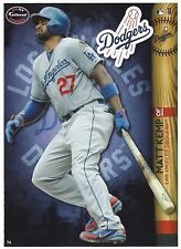 MATT KEMP FATHEAD TRADEABLES LOS ANGELES LA DODGERS REMOVABLE STICKER 2014 #74