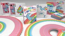 Rainbow Unicorn Fun Time! Playing Cards by Handlordz