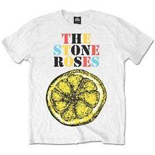 Stone Roses Logo Lemon Multicolour Mens T Shirt X Large Tshirt