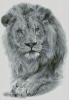 Cross Stitch Chart - Kit Lion