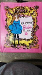 Vintage Mattel Barbie Doll Trunk/Case 1968 Pink