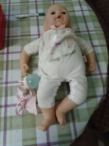 BABY ANNABELL DOLL WITH DUMMY AND BOTTLE