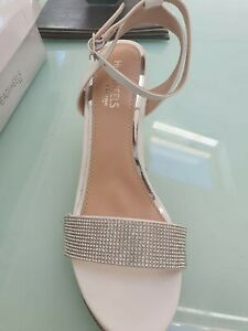Dune Sandals/Shoes In WHITE BNIB SIZE 3 RRP £55