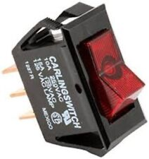 Bloomfield 6710-23 On/Off Red Lighted Switch
