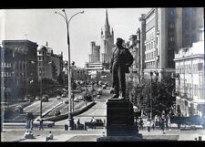 MOSCOU (RUSSIE) Square & MONUMENT de MAYAKOVSKY , période 1960-1970