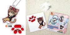 Gintama Cat Series Stand Mini Acrylic Key Chain Sougo Okita Bandai Licensed New
