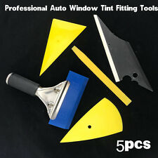 5 in 1 Car Window Glass Film Tools Squeegee Scraper Set Kit Car Home Tint Tools