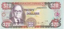 JAMAIQUE : 20 DOLLARS 1995 NEUF - P.72e