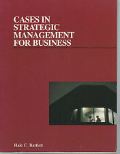 Cases In Strategic Management For Business By Hale Bartlett 1988 Paperback Book