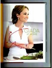 Giada De Laurentiis signed Giada At Home 1st printing hardcover book