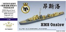 Five Star 1/700 700092 Royal Navy O Class Destroyer HMS Onslow For Tamiya