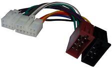 Adaptateur faisceau câble ISO autoradio pour Toyota Coaster Corolla Verso