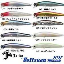Valley Hill Lure Nujigashi Gottsu Minnow 89 F 13 Blue Blue F/S from JAPAN