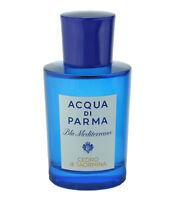 Acqua Di Parma Blu Mediterraneo Cedro Di Taormina EDT 2.5oz In A Blue Pouch