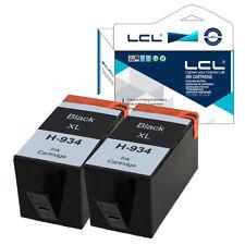 2PK Cartucce d'inchiostro per HP 934XL Officejet Pro 6812 6820 6220  NON-OEM
