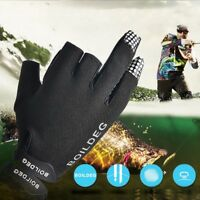 3 Cut Finger Waterproof Fishing Gloves Outdoor UV Protection Gloves - Anti-Slip