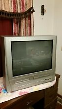 """Magnavox 20"""" All-In-One combo Gaming, Retro w/ Orig. remote Tv/Dvd/Vcr-Read"""