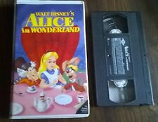 Black Diamond  Alice in Wonderland Disney Original Release (VHS) The Classics