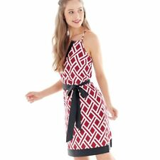 NEW GAMEDAY SUNDRESS LARGE 12-14   Red/Black by Mud Pie